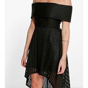 Boohoo Off the Shoulder Dress NWT